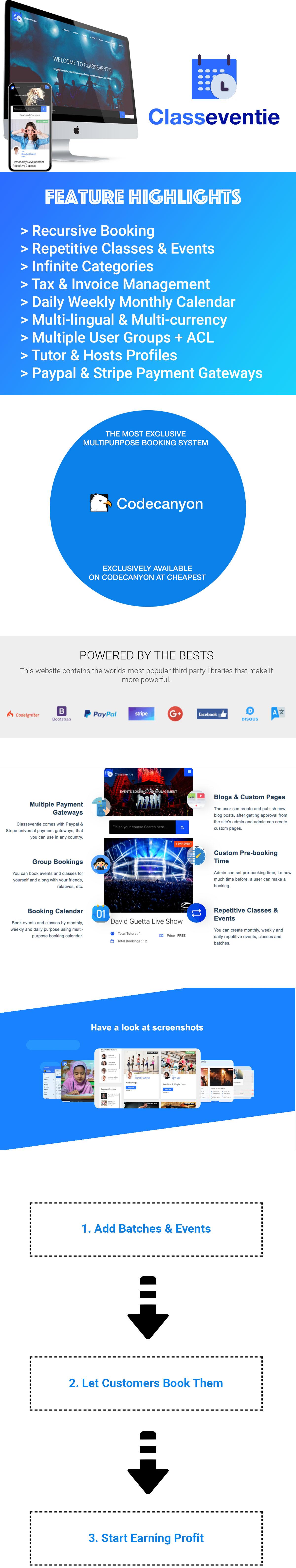 Classeventie - Multi-vendor - Get New Version Free Demo - Download Now - 7