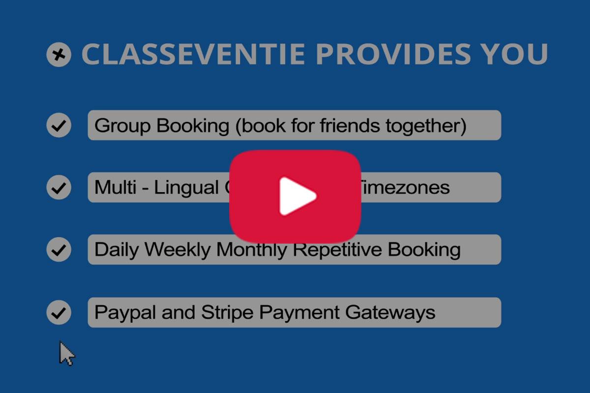 Classeventie - Multi-vendor - Get New Version Free Demo - Download Now - 4